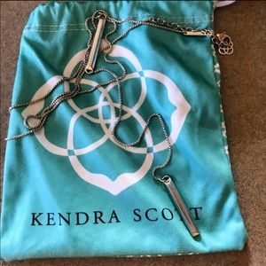Kendra Scott Shelton Necklace Silver